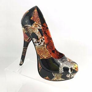 Just Fabulous Shoes - Just Fabulous Women's Pump Platform Heels Size 8